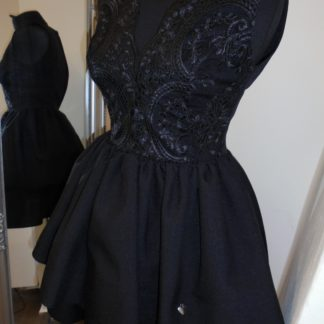 2c3f536ddd You re viewing  Čierne áčkové šaty s čipkou €72.00